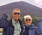 Tom and Mary Jo Compton visit Japan's Mt. Fuji, 2016